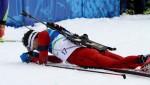 Ferry Navigates Tough Biathlon Field, Claims Gold