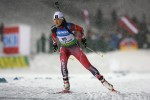 Biathlete Kocher Gets World Cup XC Experience