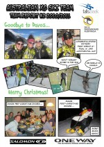 Australian Cross Country Ski Team Report 2010/2011