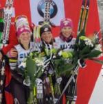 A Norway-U.S. Relay Battle? Norwegian Women Win Again, But Americans Notch First World Cup Podium