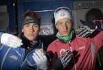 Toko in Latvia; Reese Hanneman and Eric Packer before the Scando Cup race in Latvia.