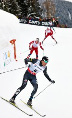 Newell Rises to Fourth in Davos Sprint, Second in World Cup Sprint Standings