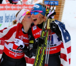 'Unreal' — Randall and Diggins are World Champions