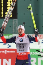 As Fourcade Collects Another Win, Burke Fifth in Sochi's Biathlon Debut
