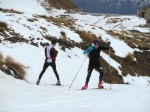 U.S. Men, Canadians Get to Work on Snow Farm