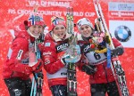 Johaug Wins First Norwegian Tour de Ski Title, Leads Podium Sweep