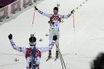 Fourcade Gets Gold He Came For; Two Frenchmen Podium in Pursuit