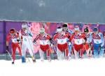 Bjørgen, Norway Overcome Tragedy to Put Three in Top Four of Women's Skiathlon