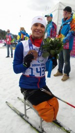 Masters Wins Second Medal of Paralympics, Bronze on Final Day in Sochi