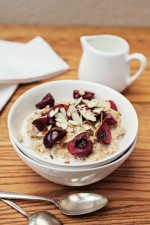 The Hungry Skier: Oat Bran with Cherries & Almonds