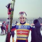 Bjørgen Outsprints Johaug in Lillehammer Thriller Pursuit