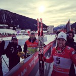 Pellegrino Takes it to Norwegians in Tour de Ski Skate Sprint