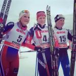 Tchekaleva Skis to Convincing Victory in Rybinsk Skiathlon