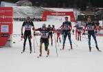 Tscharnke Outlunges Poltoranin to Win Tour 15 k; Norwegians Kept Off Podium