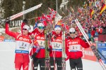 Norway Takes Men's Team Relay In Antholz; U.S. Eighth and Canada Ninth