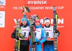Russia's Vylegzhanin Uses Teamwork, Fast Skis to Win Rybinsk 30 k