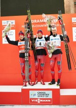 Brandsdal Rolls to Drammen Classic-Sprint Win, But Krogh Takes Overall Sprint Globe