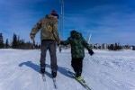 Learning While Teaching Skiing with NANANordic in Northwest Alaska