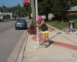 Ten Ways to Stop on Rollerskis