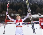 Fully Fischer: Caldwell Breaks Through in Oberstdorf