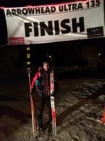 Despite a Pole Break 20 Miles In, Minneapolis Local Mike Brumbaugh Wins Arrowhead Ultra