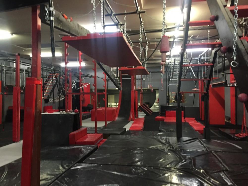 An American Ninja Warrior Gym Reid Pletcher Trained At In