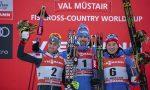 Ustiugov Wins Tour de Ski's Only Sprint; Harvey Sixth