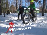 Wednesday Workout: Skiing Fat-Bike Singletrack (Like Eli Brown)