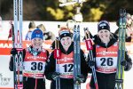 One Year Later, Diggins Repeats Toblach 5 k Win; Sadie Bjornsen Notches First Podium