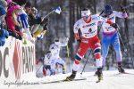 Bow Before The Queen: Bjørgen, 15 Times a World Champ, Wins Skiathlon