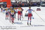 Klæbo Rockets to First Distance Win in Quebec Mass Start; Harvey 4th