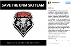 Boldface Names Share Support for UNM Skiing