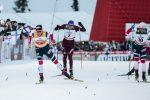 Klæbo Holds Off Sundby, Bolshunov and Harvey for Ruka Triple Sweep