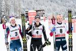 Van der Graaff Wins Opening Stage of Tour de Ski; Caldwell Second