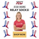 Celebrate with Podiumwear/Jessie Diggins Relay Socks