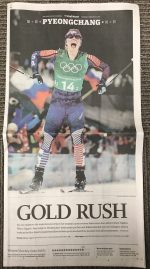 Front-Page News: American Media Reacts to XC Gold