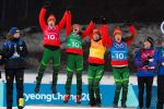 Thursday Olympic Rundown: Belarus Gold in Thrilling Women's Biathlon Relay; US 10th Team in NoCo