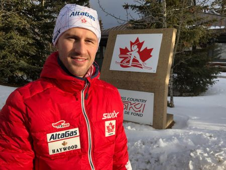 Erik Bråten, at the end of his first week in Canada.