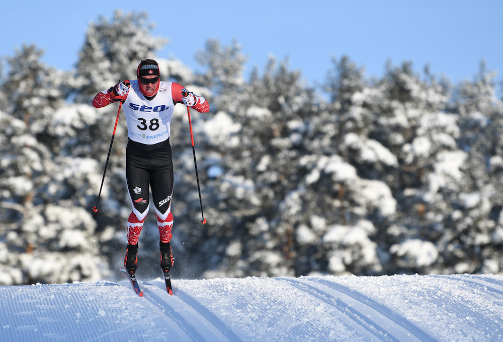 Graham Ritchie on his way to qualify 19th in Lahti. (Photo: Doug Stephen)