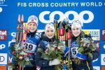 50th World Cup Victory for Johaug; Diggins 4th