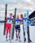 Norway's Falla Leaves No Doubt with Otepää Win; Diggins in 12th