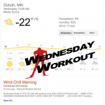 Wednesday Workout: Cold Weather Resource for Insiders and Outsiders