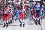Røthe Clinches Skiathlon Win By 0.1 Second Over Bolshunov; Harvey 6th