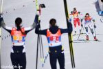 An Iconic Women's Relay as Sweden Holds off Norway; U.S. in Fifth
