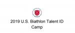 2019 U.S. Biathlon Talent ID Camp Info/Application