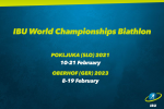 IBU Calendar Changes, Prize Money Increases, and Mandatory Athlete Anti-Doping Education (Press Release)