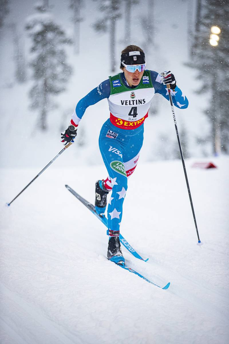 Watching the FIS Cross-country World Cup for 2020-2021 in the U.S.