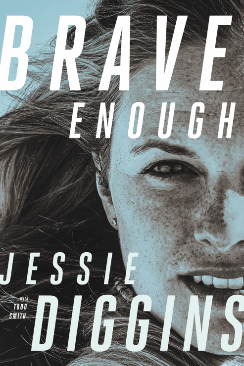 "Cover of Jessie Diggins's new memoir, ""Brave Enough."" (photo: courtesy of the University of Minnesota Press)"