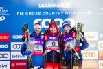 Bolshunov Rebounds for 30 k Skiathlon Win with Holund Driving the Pace