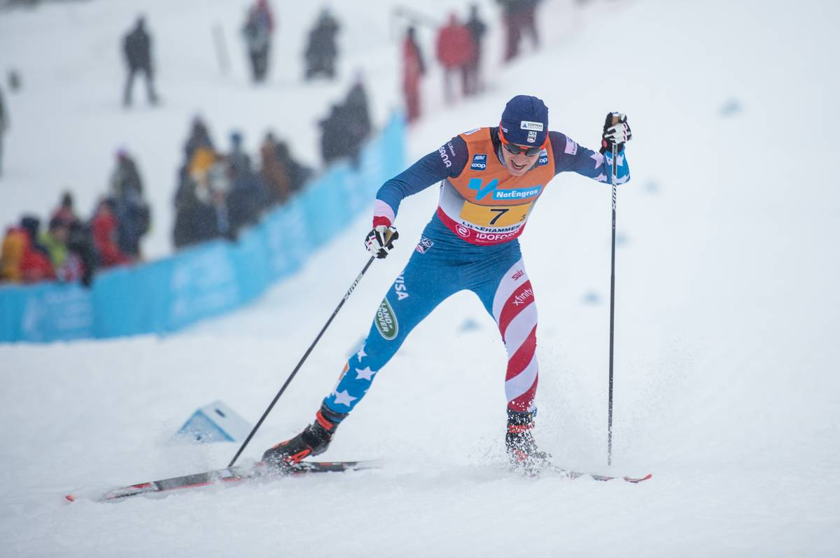 08.12.2019, Lillehammer, Norway (NOR):<br /> Scott Patterson (USA) - FIS world cup cross-country, 4x10km men, Lillehammer (NOR). www.nordicfocus.com. © Vianney THIBAUT/NordicFocus. Every downloaded picture is fee-liable.